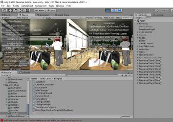 『高校の怪談VR(仮)』をfove0に表示させました!