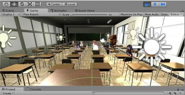『高校の怪談VR(仮)』 皆さん着席中