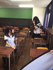 高校の怪談の撮影会の写真を公開!!